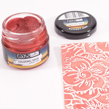 COOSA Crafts Gilding Wax Twilight Sunset Red (COWR-012)