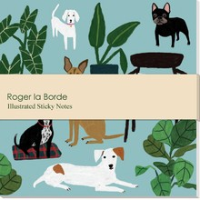 Roger La Borde Dog Palais Sticky Notes (SN 011)