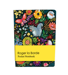 Roger La Borde Wild Batik Pocket Notebook (APB 003)