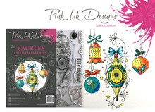 Pink Ink Designs Baubles A5 Clear Stamp Set (P1036)