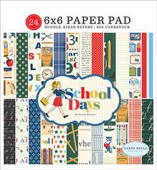 Carta Bella School Days 6x6 Inch Paper Pad (CBDS118023)