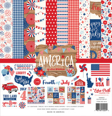 Echo Park America 12x12 Inch Collection Kit (AM213016)
