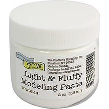 The Crafter's Workshop Light & Fluffy Modeling Paste (59ml) (TCW9044)