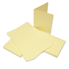 Craft UK Limited Cards & Envelopes 5x7 Inch Ivory (CUK291)
