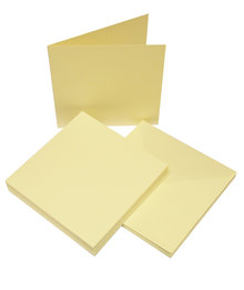 Craft UK Limited Cards & Envelopes 6x6 Inch Ivory (CUK600)