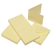 Craft UK Limited Cards & Envelopes 3x3 Inch Ivory (CUK995)