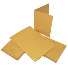 Craft UK Limited Cards & Envelopes C6 Kraft (CUK2049)