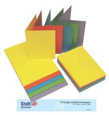 Craft UK Limited Cards & Envelops C6 Bright (CUK281)