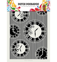 Dutch Doobadoo Mask Art Clocks Stripes (470.715.814)