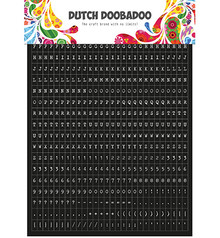 Dutch Doobadoo Sticker A5 Tekst (491.200.002)