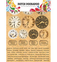 Dutch Doobadoo Sticker A5 Clocks (491.200.003)