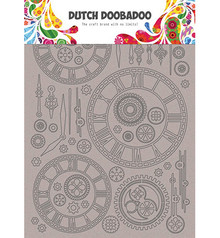 Dutch Doobadoo Dutch Greyboard Clocks (492.006.003)