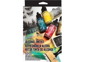 Ranger Tim Holtz Alcohol Ink Kit (TDK48213)