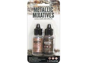 Ranger Tim Holtz Alcohol Ink Metallic Mixatives (TAK58762)