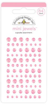 Doodlebug Design Inc. Cupcake Mini Jewels (84pcs) (6714)
