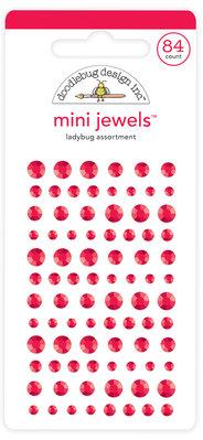 Doodlebug Design Inc. Ladybug Mini Jewels (84pcs) (6716)