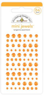 Doodlebug Design Inc. Tangerine Mini Jewels (84pcs) (6717)