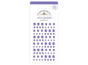 Doodlebug Design Inc. Lilac Mini Jewels (84pcs) (6722)
