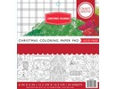 Craft Smith Christmas Coloring 6x6 Inch Paper Pad (CIN023)