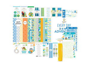 Doodlebug Design Inc. Party Time Birthday Boy Value Bundle (6701)