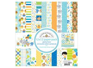 Doodlebug Design Inc. Party Time 12x12 Inch Paper Pack (6691)