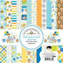 Doodlebug Design Inc. Party Time 6x6 Inch Paper Pad (6689)
