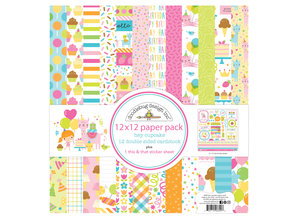 Doodlebug Design Inc. Hey Cupcake 12x12 Inch Paper Pack (6690)