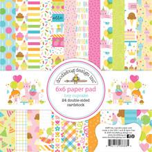 Doodlebug Design Inc. Hey Cupcake 6x6 Inch Paper Pad (6688)