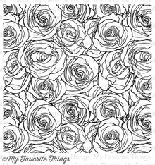 My Favorite Things Roses All Over Background Stamp (BG-44)