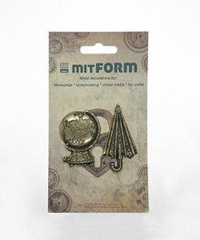 Mitform Travel 2 Metal Embellishments (MITS050)