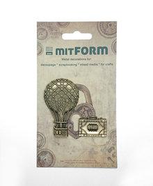 Mitform Travel 4 Metal Embellishments (MITS052)