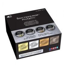 Spectrum Noir Metallic Liquid Ink Rich Metallics 30ml (4pcs) (SN-META-LI30-RMET4)