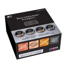 Spectrum Noir Metallic Liquid Ink Vintage Metallics 30ml (4pcs) (SN-META-LI30-VMET4)