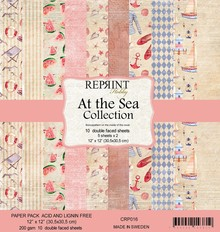 Reprint At the Sea Collection 12x12 Inch Paper Pack (CRP016)