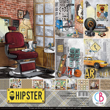 Ciao Bella Papercrafting Hipster 12x12 Inch Paper Pad (CBPM035)