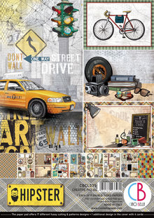 Ciao Bella Papercrafting Hipster A4 Creative Pad (CBCL035)
