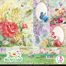Ciao Bella Papercrafting Microcosmos 12x12 Inch Paper Pad (CBPM037)