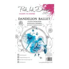 Pink Ink Designs Dandelion Ballet A5 Clear Stamp Set (PI066)