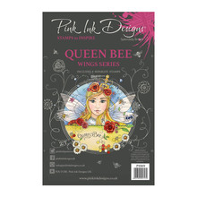 Pink Ink Designs Queen Bee A5 Clear Stamp Set (PI069)
