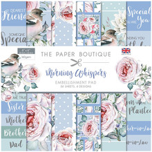 The Paper Boutique Morning Whispers 8x8 Inch Embellishment Pad (B1304)