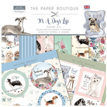 The Paper Boutique It's a Dog's Life 8x8 Inch Paper Kit (PB1319)