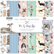 The Paper Boutique It's a Dog's Life 8x8 Inch Paper Pad (PB1320)