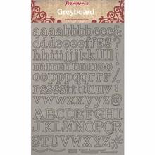 Stamperia Greyboard A4 Alphabet (KLSPDA402)