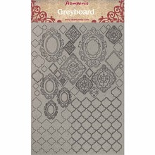 Stamperia Greyboard A4 Wallpaper (KLSPDA403)