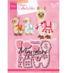 Marianne Design Collectable Eline's Alpaca (COL1470)
