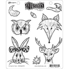 Ranger Dylusions Heads N Tails Cling Stamps (DYR62301)