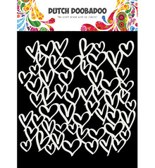 Dutch Doobadoo Mask Art A5 Hearts (470.715.623)
