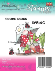 Polkadoodles Gnome Grown Clear Stamps (PD8074)