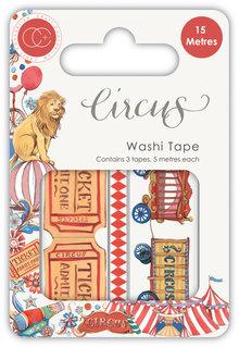 Craft Consortium Circus Washi Tape (CCWTPE004)