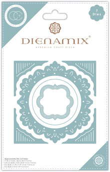 Craft Consortium Ornate Circle Dies (CCDMX006)